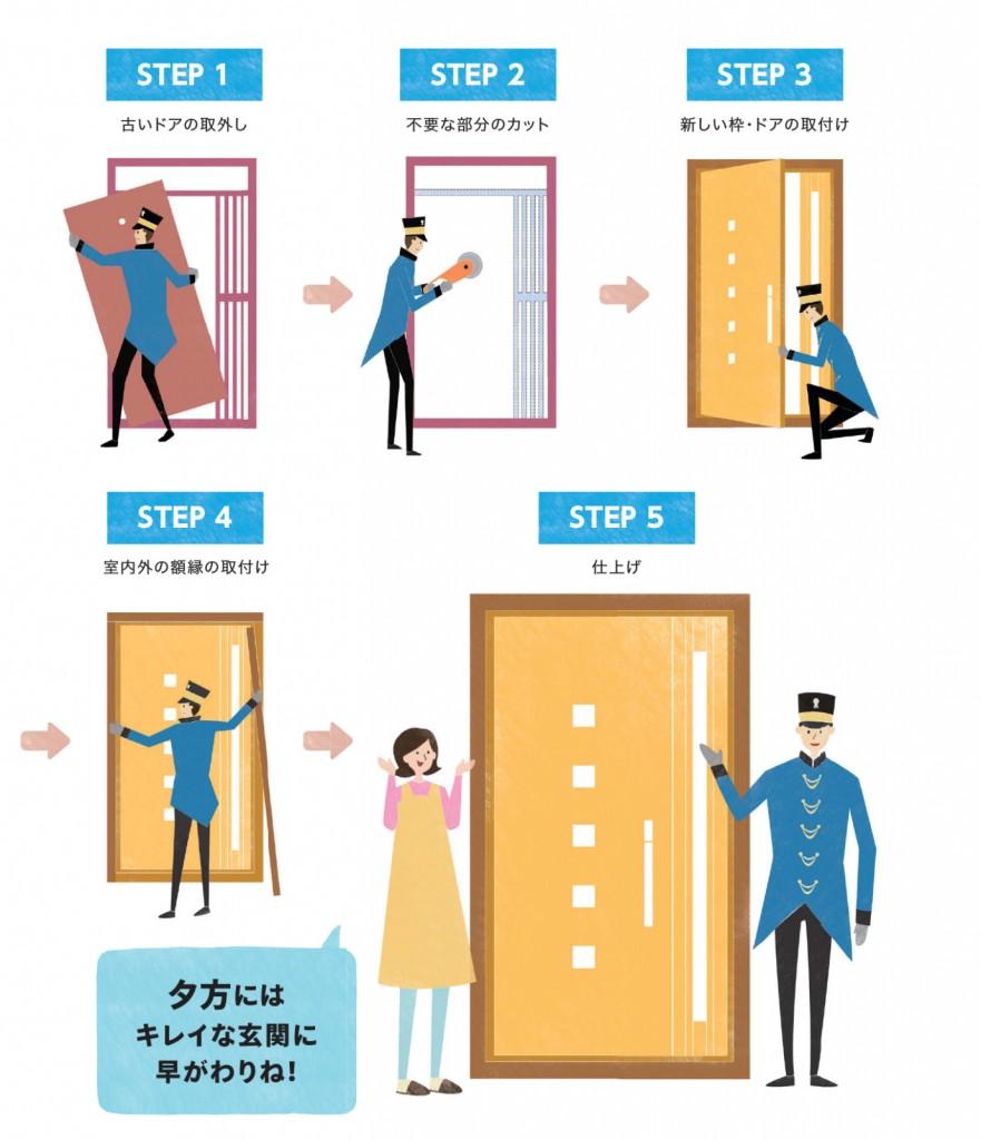 [玄関] リフォーム玄関